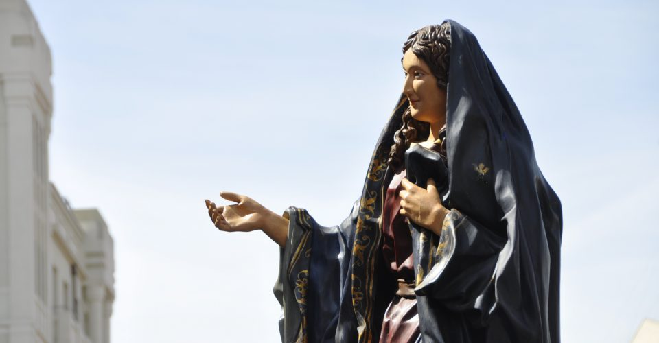 Triduo en honor a la Virgen de la Alegría. Día 3°.